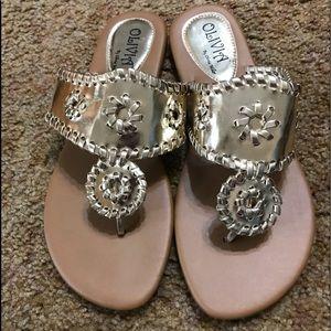Gold Olivia Sandals